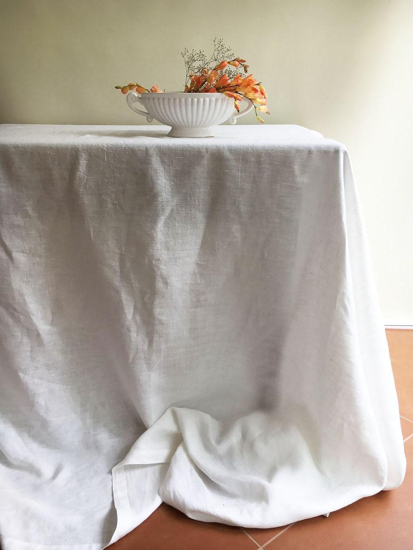 white linen table cloth pure white linen tablecloth rectangle tablecloth square pure white tablecloth linen tablecloth creamy white linen