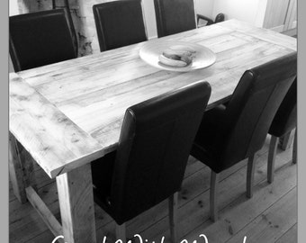 Dining Table - Reclaimed boards