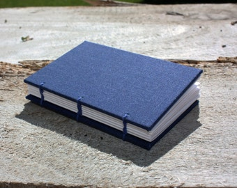 2x3 Bookcloth Covers Personalizeable Blank Journal/Sketchbook - Coptic Binding Journal - Multiple Colors Available