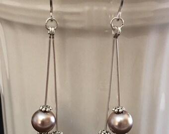 Jewelry, Earrings / Dangle and Drop Earrings / Pearl Earrings