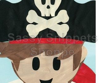 Pirate Pal Cardstock Print
