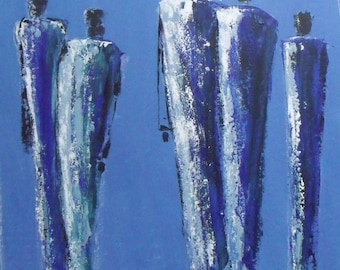 Modern painting 80 x90cm 31.5 x 35.5 inch