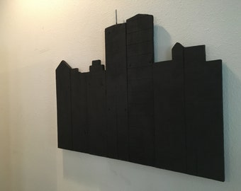 Reclaimed New York Skyline
