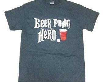Beer Pong Hero Tshirt