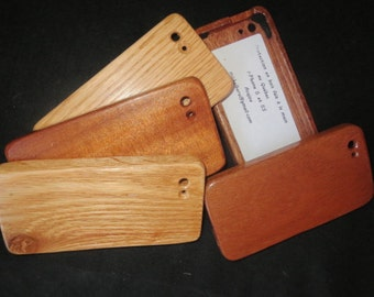 Protective shell hardwood for i-Phone 5 and 5s