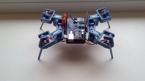 Arduino robot quadruped spider by