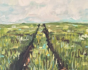 Tractor Path -  16x20