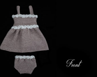Olivia Newborn Dress