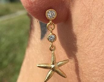 Mermaid Drop Earrings