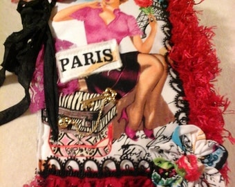 Paris fabric and lace book