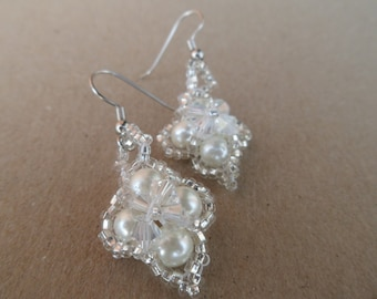Pearls Beaded Earrings