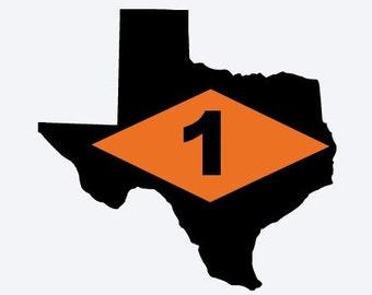 Texas Ranger Battalion Decal