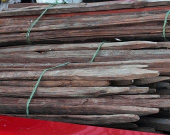 50 Split Primative Antique Tobacco Sticks/Rustic/Crafts**From the Hills of Tennessee