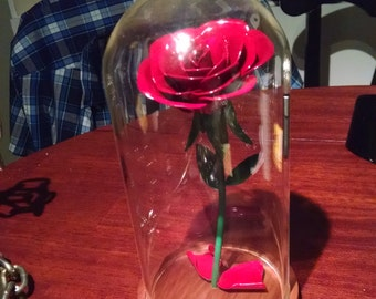 Forever Rose (beauty and the beast style)