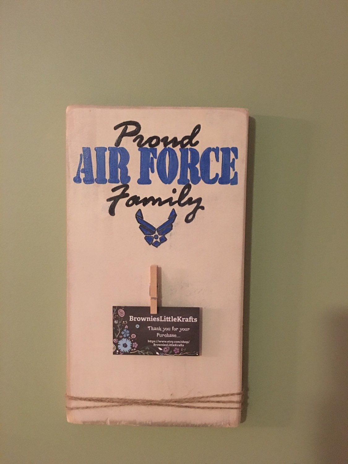 Proud air force family picture wall decor by for Decor 6 air force