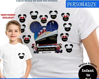 Disney Matching Cruise Shirts, Custom Disney Cruise Shirts, Disney Family Cruise Shirts