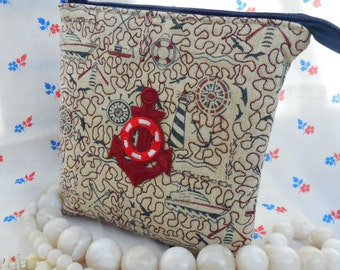 Сosmetic bag - toiletry bag - makeup bag, gift for girl