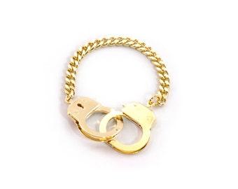 Working Handcuff Bracelet