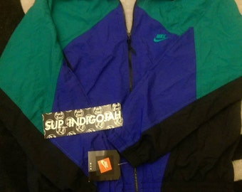 Vintage 1991 Nylon Wind Breaker With Tags