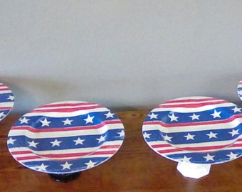 Party Platter, Candy Dish, Forth of July Dishes, Memorial Day Dishes, Candy Buffet, Serving Trays