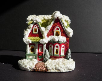 Christmas Village - Brick Cottage
