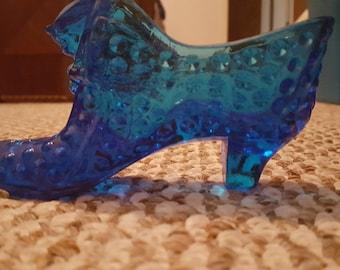 Cobalt Blue Shoe