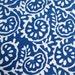Sold by Yard Indigo Blue Hand Block Print 100% Cotton Fabric, Dabu Print Natural Vagitable Dye Fabric, India Handmade Fabric HPS#101