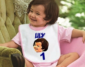 Personalized Baby Bib. Free Shipping! Design What You Want!