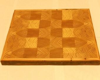 reclaimed pine endgrain cuttingboard