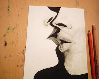 Charcoal Kiss