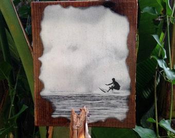 "California Surf Art 9""x7.5"""