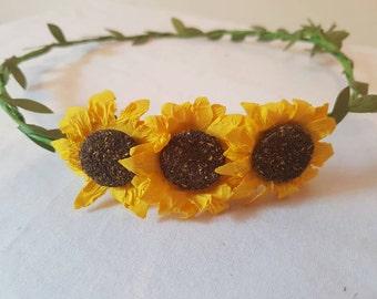 Festival garland headband