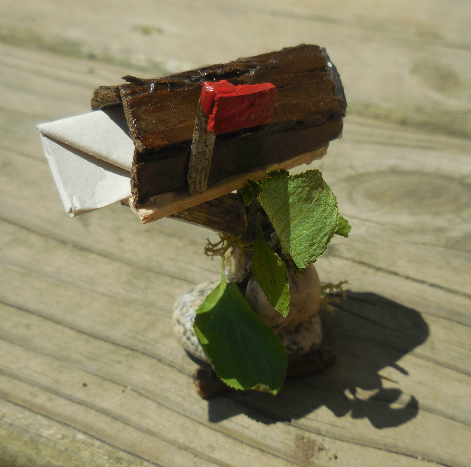 Fairy mailbox miniature fairy mailbox for by for Little fairy mailbox