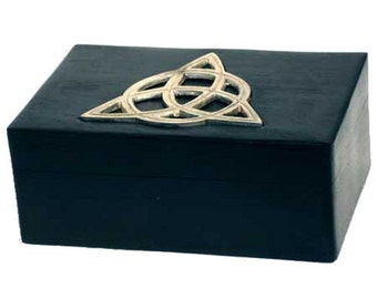 "Celtic Triquetra Trinket Box 4"" X 6"""