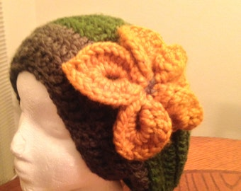 Flower Forest Slouchy
