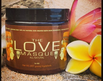 THE LOVE MASQUE 16 Oz. Herbal Face Mask
