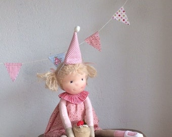 Waldorf style doll-Party # 1