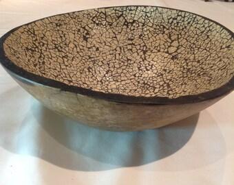 ostrich egg surface bowl