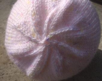 Newborn Ribbed Border Hat
