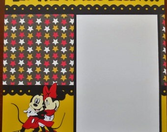 Disney Scrapbook Album 8x8 - Designed To Order - Just The Pages