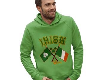 Men's Irish Flag St Patricks Day Hoodie