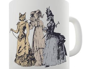 High Society Animals Ceramic Mug