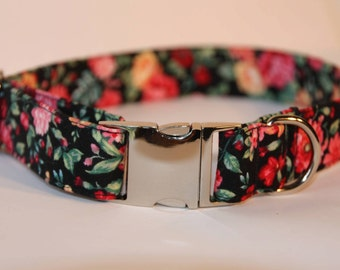 Floral Dog Collar - Small
