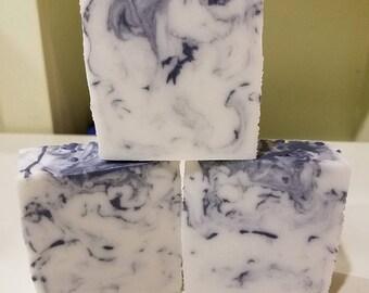 Shea Butter Glycerin soap; Ocean Rain