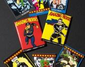Amazing Heroes trading cards--full set