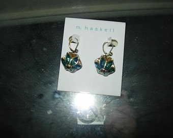 m haskell earrings
