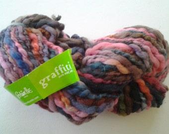 "Colinette ""grafitti"" luxury yarns,  beautiful multi color pure wool"