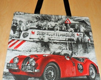 """Shopping bag: """"ride in Italy"""""""
