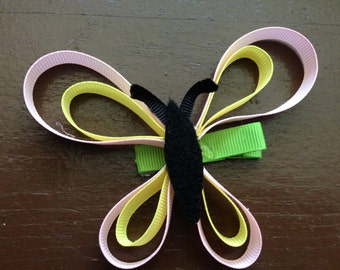 Butterfly Ribbon Sculpture