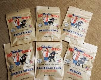 6 1.5 oz Jerky Sample Pack